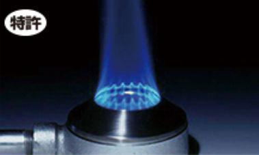鍋の中心から均等加熱