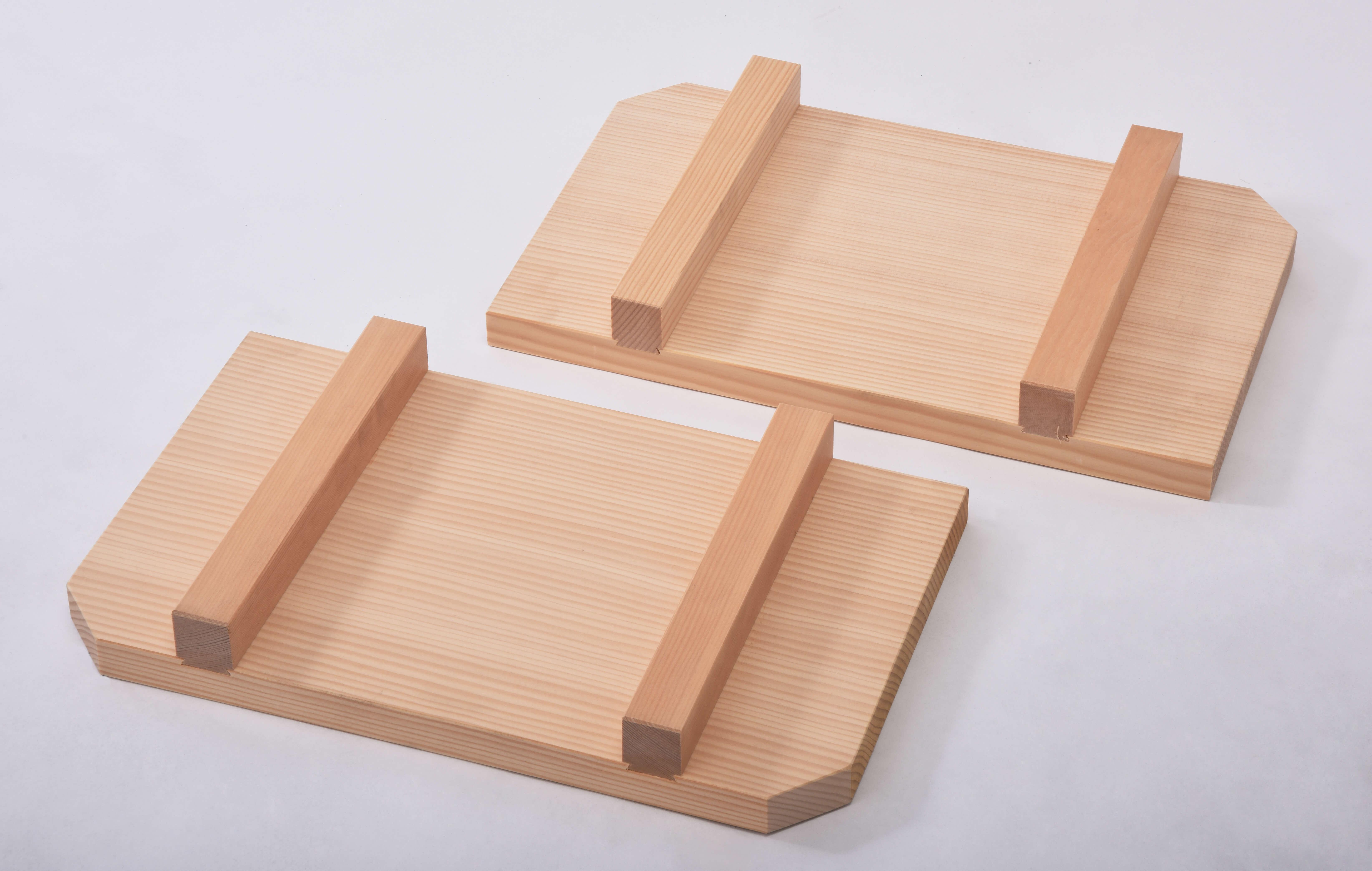 木製釜フタ 2分割 湯煎釜用